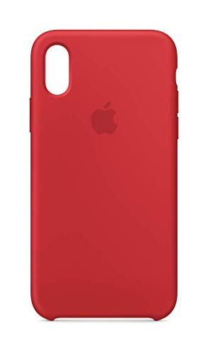 Apple Coque en silicone (pour iPhone XS) - (PRODUCT)RED