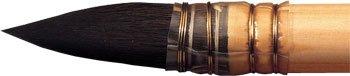 Winsor & Newton Pennello in puro Scoiattolo per Acquerelli Manico Corto - Tondo N 2-10 mm