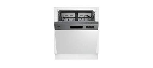 BEKO dsn15420x Semi integrierter 14places A + + Spülmaschine-Geschirrspülmaschinen (Semi Integriert, Full Size (60cm), Korb, Edelstahl, 14Sitzer, 46dB)