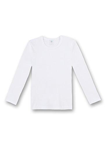 Sanetta Shirt 1/1 Arm FR 301500 Unisex - Kinder Unterwäsche/ Unterhemden, Gr.116, Weiß(10 )