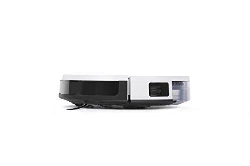 21Px37TOrEL [Bon Plan Ecovacs] ECOVACS DEEBOT 600 - Aspirateur robot nettoyeur - Pour sols durs et tapis - Aspirateur sans fil programmable via smartphone et compatible avec Amazon Alexa