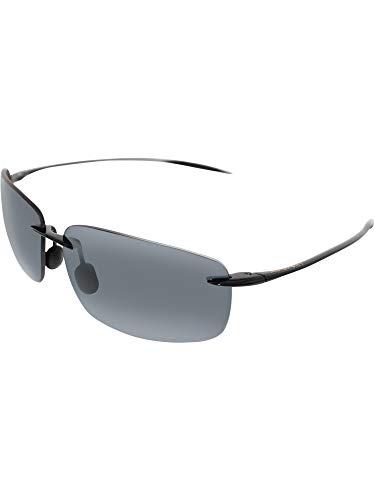 7a216a6cae8 Maui Jim Maui Jim Pilot 210 – 17 Sunglasses New Negro brillante 127 cm