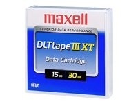 Maxell DLTtape IIIXT - DLT x 1 - 15 GB - storage (External Media Bay Cable)
