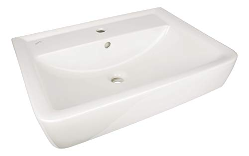 Keramag 222265000 Renova Plan Handwaschbecken Waschtisch Waschplatz Neu, 65 cm, 65