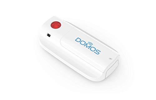 WIFI Notfallknopf. Benachrichtigung am Smartphone - DOMOS