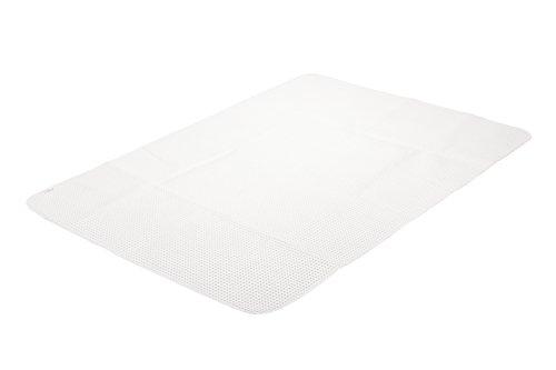 TAURO 24659 Noppen Matratzenschoner 100 x 200 cm |Auflage zum Schutz der Matratze | Atmungsaktiv und rutschfest
