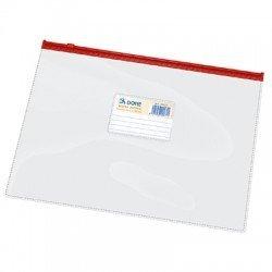 Dohe 99471-Borsa Zipper, folio, colore: rosso