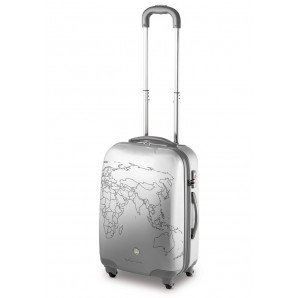 TROLLEY MEDIO 4 RUOTE RONCATO CIAK TO-DO - TSA - (SILVER)