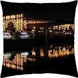 Wonderful Christmas Lights - Throw Pillow Cover Case (18 Decorative Pillow Covers for Couch -