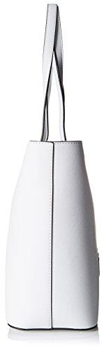 Guess Hwvp6693230, Borsa a Spalla Donna, 13.5x28x43 cm (W x H x L) Bianco