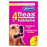 Johnsons 4Fleas Tablets Large Dogs 3 Treatment Pack
