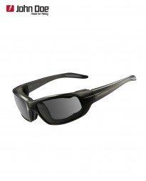 nbrille - dunkel getönt Größe UNI (Dunkle Schwarze Sonnenbrille)