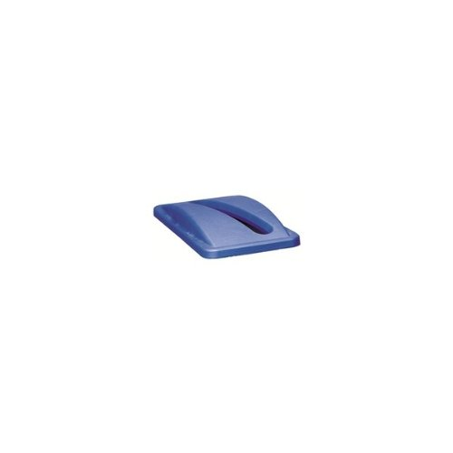 rubbermaid-slim-jim-bin-lid-paper-blue
