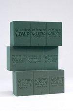 Nass-schaum (Floral Supplies - 10 x Oasis Ideale Ziegel Block Schaum Nass für frische Blumen)