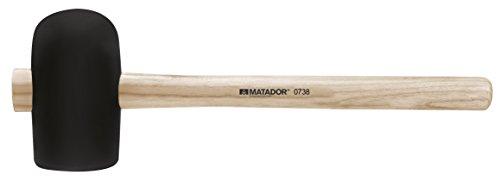 Matador gomma hammer, din 5128b, 115x 65mm, 07380005