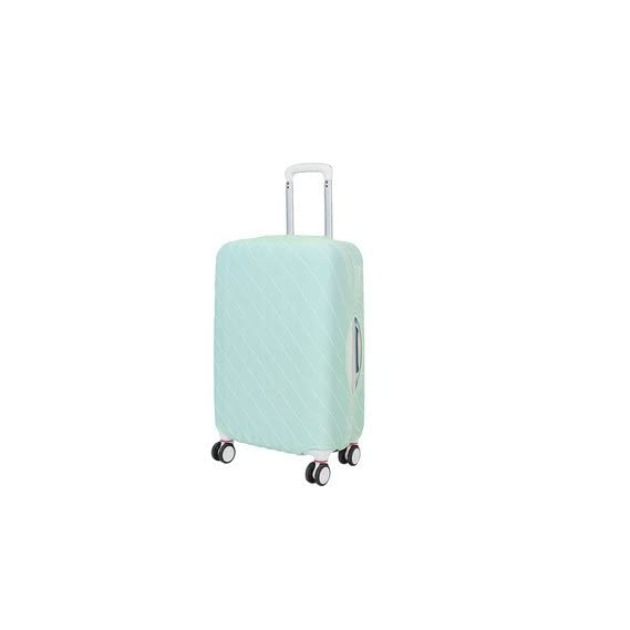 Generic Suitcase Protector Luggage Trolley Case Cover-Medium-Green