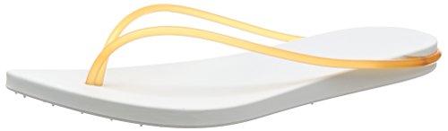 Ipanema Philippe Starck Thing M Fem, Tongs femme Blanc - Weiß (white/orange 8475)
