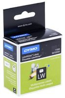 MULTI-PURPOSE LABELS WHITE 13 X 24MM S0722530 By DYMO