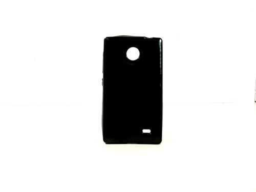 iCandy™ Colorfull Thin Soft TPU Back Cover For Nokia X / X+ - Black  available at amazon for Rs.109
