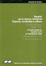 Descargar Libro Madrid en la época moderna: espacio, sociedad y cultura (Colección de estudios) de Santos Madrazo Madrazo