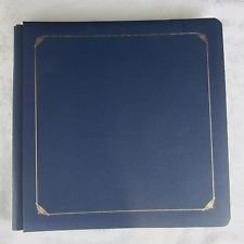 Creative Memories Fotoalbum, 30,5 x 30,5 cm, 15 Seiten, Jeansblau, säurefrei/ligninfrei -