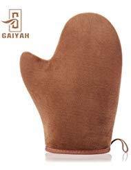 Gaiyah self tanning mitt tan mitt - double sided self tan mitt con il pollice