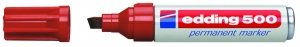 Edding 500 Sparpack Permanentmarker Nr. 500 nachfüllbar mit edding T 25 (Braun, 5er Sparkack) -