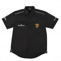 Lamborghini Hemd Shirt schwarz Blancpain Series Größe M - Lamborghini-shirt