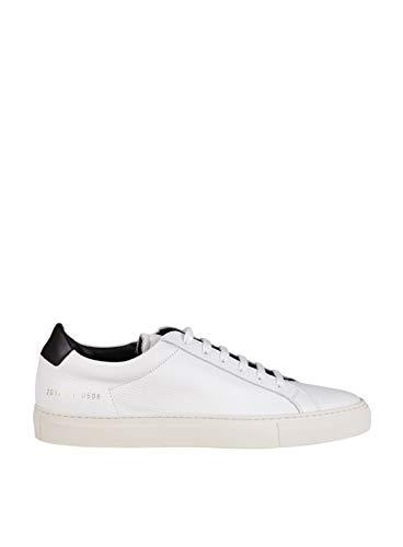 COMMON PROJECTS Herren 20970506 Weiss Leder Sneakers