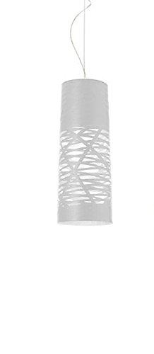 Foscarini Lampe de Suspension Foscarini Tress Mini H 5 m – blanc