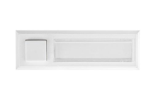 HUBER Klingeltaster 12101, 1-fach aufputz, rechteckig, aneinanderreihbar, aus Polystyrol