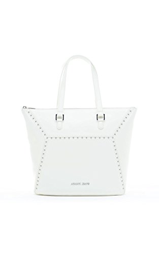 Armani Jeans Sac fourre-tout simili cuir Blanc Blanc