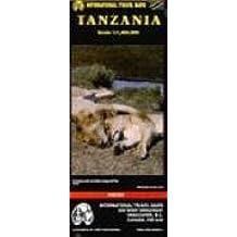 Carte routière : Tanzanie