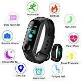 LIGE Fitness Trackers, Pantalla de Color con Monitor de Ritmo cardíaco Monitor de sueño Pulsera Inteligente,Impermeable Podómetro Contador de calorías Hombres, Mujeres, niños Pulsera Deportiva