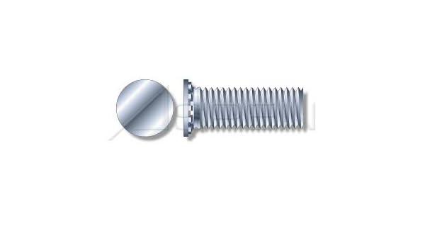 Flush Head Self-Clinching Studs Self-Clinching Studs Full Thread 1//4-20 X 1 Steel Zinc Plated and Baked 4000 pcs