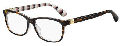 Kate Spade Calley 0086 Brille Dark Havanna/Demo-50 mm