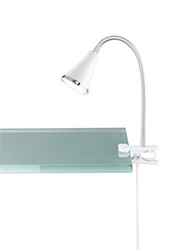 Reality, Lampe à fixer, Arras incl. 1 x LED,SMD,3,8 Watt,3000K,350 Lm. Plastique, Blanc, Corps:...