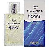 Eau De Rochas POUR HOMME par Rochas - 50 ml Eau de Toilette Vaporisateur