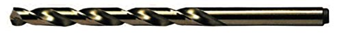 Viking Bohrer und Werkzeug 08380#9Type 240-D 135 Grad Split Point Kobalt Jobber Gold-Finish Bohrer Bit (12 Stück)