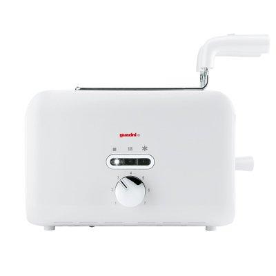 G-Style White Designer Toaster