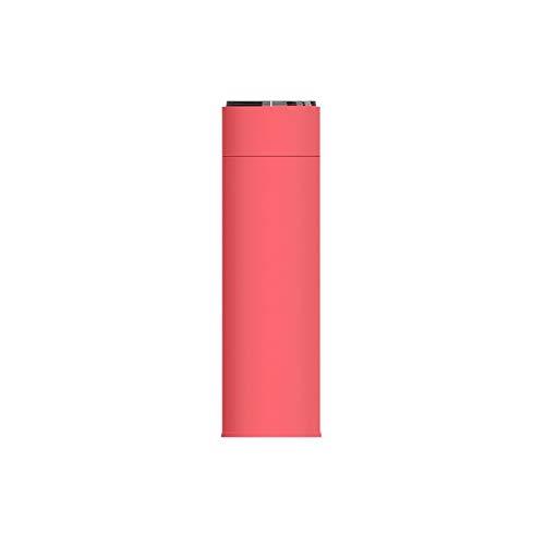 Thermos-Edelstahl-gerader Schalen-Wasser-Schalen-Cupcup der Männer 10,5 Unze (Color : Lemon Yellow, Size : 20 * 6CM) -