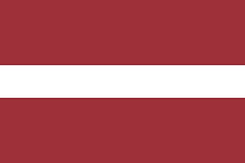 magFlags Flagge: XXS Lettland | Querformat Fahne | 0.24m² | 40x60cm » Fahne 100% Made in Germany