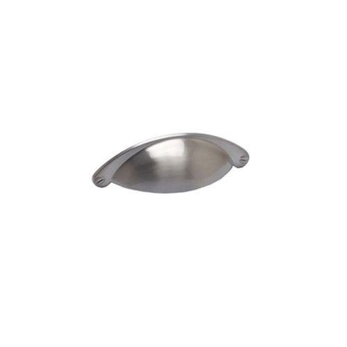 Berenson Andante 64mm Mitte zu Mitte Cup Schrank Pull, gebürstetes Nickel -