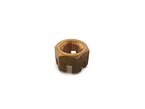 YAMASCO 90171-14013-00 Propeller Prop Castle Nut for Yamaha Outboard Parsun 20-45HP 2 or 4 Times