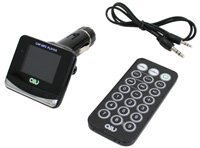 AIV FMT893 RDS FM Transmitter Schwarz Portable Fm-transmitter