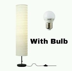 IKEA Holmo Stehlampe (Lampe + Glühbirnen-Set)