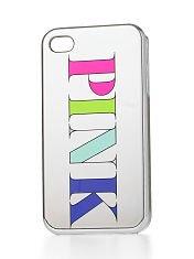 Victorias Secret-Pink-Silber Iphone 5 Case (Secret Wireless Victorias)