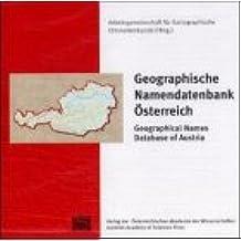 Geographische Namendatenbank Österreich /Geographical Database of Austria