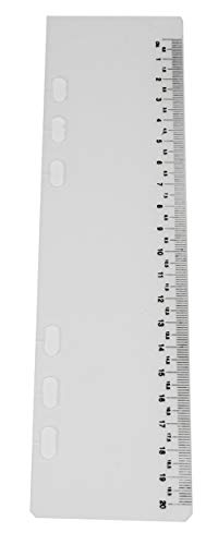 Einheftlineal Lineal Zum Einheften A5 Transparent Kunststoff Für Ringbuch Terminplaner