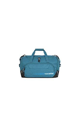 """Travelite Reise- und Sporttaschen \""""KICK OFF\"""" von travelite in 3 Farben: praktisch, robust und auch zum Ziehen Reisetasche, 50 cm, 45 L, Petrol"""